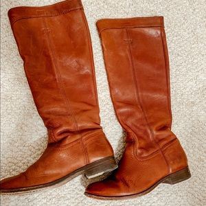 PRICE FIRM!! FRYE Cara Roper Tall riding boot